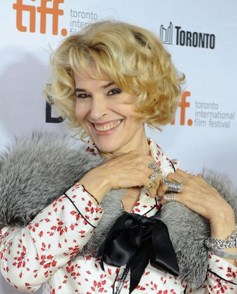 "Actress Fanny Ardant attends the ""Bright Days Ahead"" premiere during the 2013 Toronto International Film Festival at Roy Thomson Hall on September 13, 2013 in Toronto, Canada"