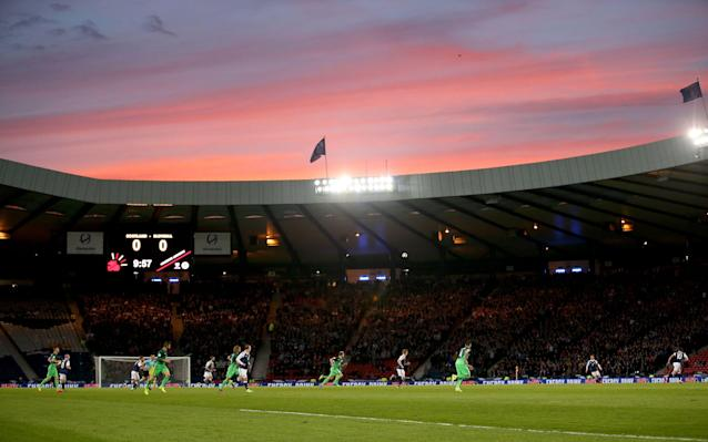 hampden park scotland vs slovenia - PA Wire