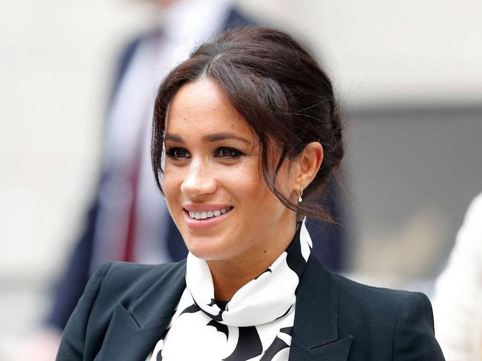 """<p>Meghan said <a href=""""https://www.harpersbazaar.com/celebrity/latest/a26762195/meghan-markle-quotes-international-womens-day-panel/"""" rel=""""nofollow noopener"""" target=""""_blank"""" data-ylk=""""slk:during a panel discussion"""" class=""""link rapid-noclick-resp"""">during a panel discussion</a> on International Women's Day in 2019, """"Your confidence comes in knowing that a woman by your side, not behind you, is actually something you shouldn't be threatened about but, opposed to that, you should feel really empowered in having that additional support that this is really about us working together.""""</p>"""