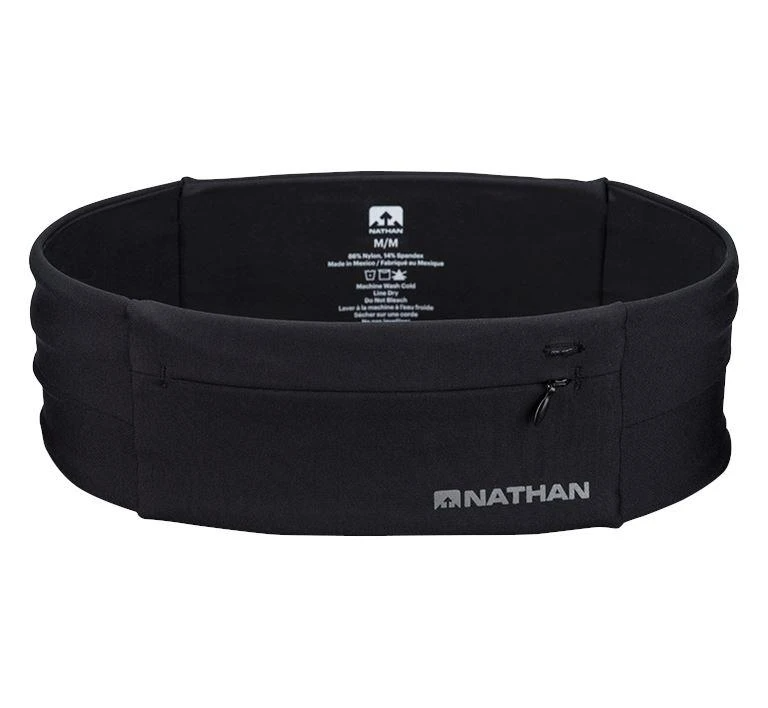 """<h3>Nathan The Zipster Belt</h3> <br>Runners and hikers love this lightweight waist belt that carries just the essentials — phone, keys, a mask, and some emergency cash.<br><br><br><strong>Nathan Sports</strong> The Zipster, $, available at <a href=""""https://go.skimresources.com/?id=30283X879131&url=https%3A%2F%2Fwww.nathansports.com%2Fcollections%2Fall%2Fproducts%2Fthe-zipster"""" rel=""""nofollow noopener"""" target=""""_blank"""" data-ylk=""""slk:Nathan"""" class=""""link rapid-noclick-resp"""">Nathan</a><br><br>"""
