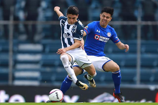 Jonathan Gonzalez burst onto the scene at Monterrey in 2017. The 18-year-old was one of the top prospects in the U.S. men's national team pool, but will reportedly play for Mexico. (Getty)