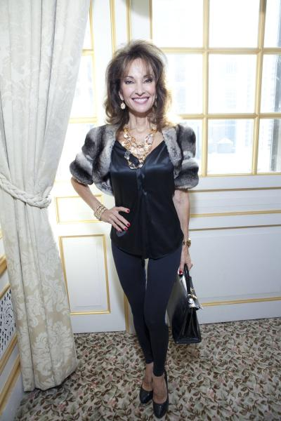 Susan Lucci Mercedes-Benz New York Fashion Week Spring/Summer 2013- Dennis Basso Presentation at the St. Regis Hotel New York City, USA - 11.09.12  Mandatory Credit: Jeff Grossman/WENN.com