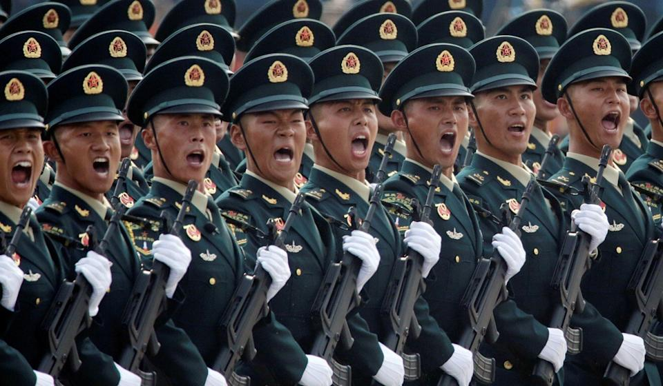 China wants its People's Liberation Army to be a modern military force by 2027. Photo: Reuters