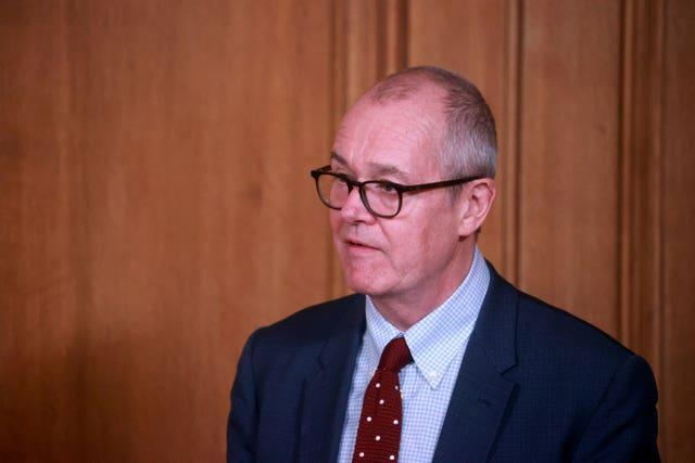 Chief scientific adviser Sir Patrick Vallance (Hannah McKay/PA)