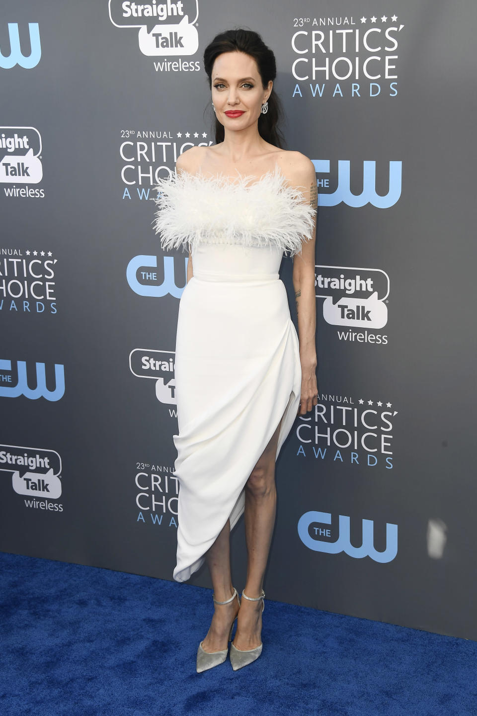 <p>Wearing Ralph & Russo.<em> [Photo: Getty]</em> </p>