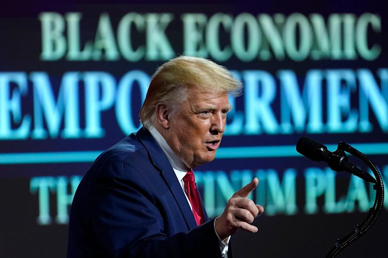 President Donald Trump has expanded a ban on anti-racism training to federal contractors.
