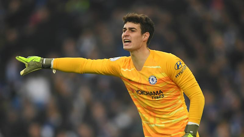 Lampard pleased with Kepa's response after dropping world's most expensive goalkeeper