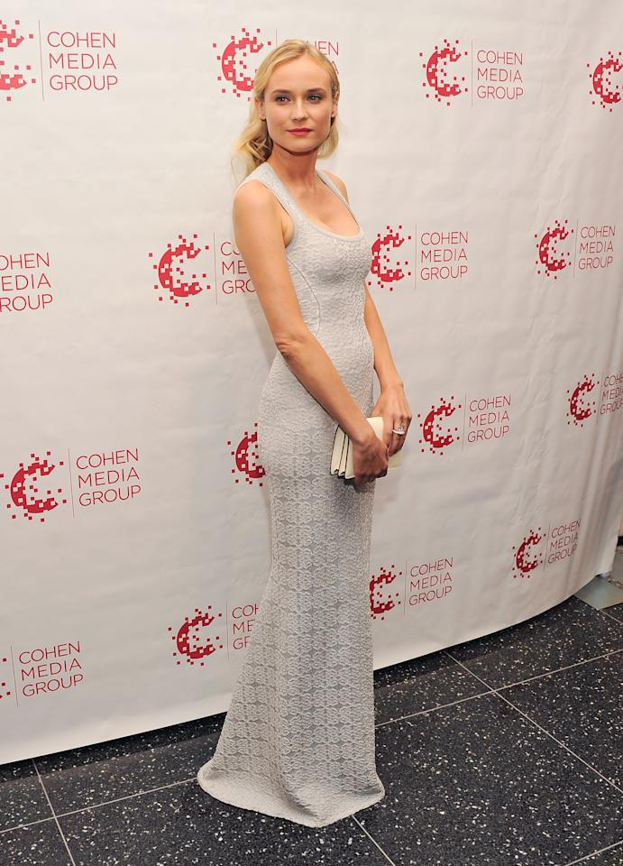 """NEW YORK, NY - JULY 09:  Actress Diane Kruger attends the """"Farewell, My Queen"""" New York Screening at MOMA on July 9, 2012 in New York City.  (Photo by Stephen Lovekin/Getty Images)"""