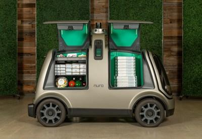 Domino's and Nuro are joining forces on autonomous pizza delivery using the custom unmanned vehicle known as the R2. The global leader in pizza delivery will use Nuro's unmanned fleet to serve select Houston Domino's customers who place orders online later this year.