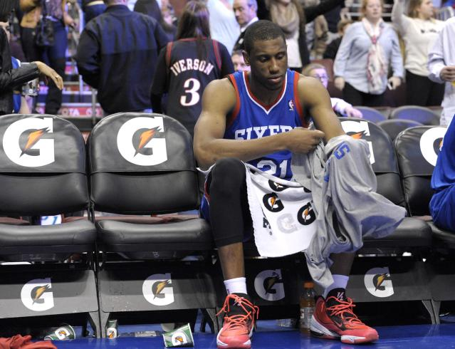 Thaddeus Young can't even remember the last time the Philadelphia 76ers won
