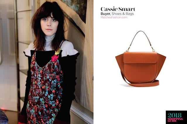 Cassie Smart, buyer, shoes and bags, MatchesFashion.com. (Photo: Courtesy of MatchesFashion)