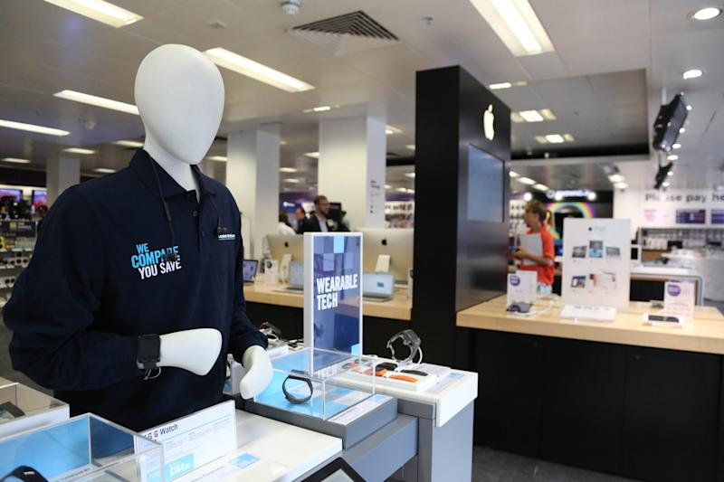 Embattled: Dixons Carphone has been hit by profit warnings and a data breach