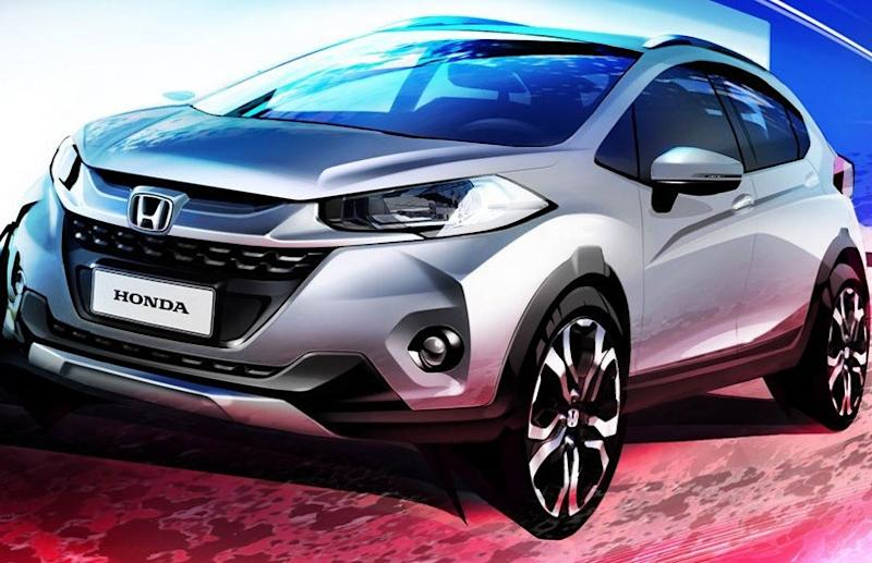 Honda previews its next cute-ute with a rugged-looking concept named WR-V