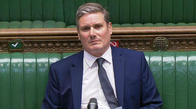 Labour leader Keir Starmer in the House of Commons, London.