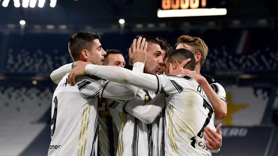 Esultanza Juve | Soccrates Images/Getty Images