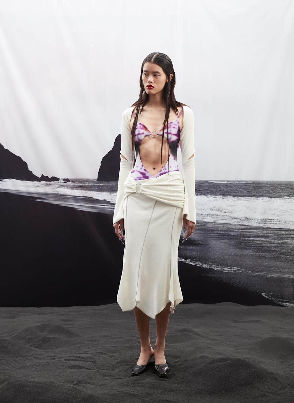 A look from Didu's spring 2022 collection. - Credit: Zhongjia Sun/Courtesy of Didu