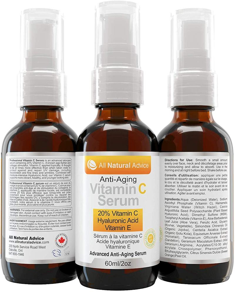 All Natural Advice Anti-aging Vitamin C Serum