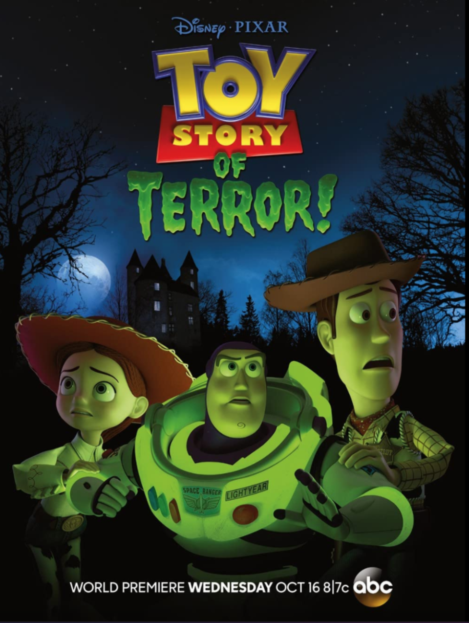 """<p>Woody, Buzz, Jessie and the <em>Toy Story</em> gang take a road trip, which takes an unexpected turn when they have a flat tire and have to spend a night at a """"haunted"""" roadside motel. When one toy goes missing, everyone find themselves in a series of mysterious events.</p><p><a class=""""link rapid-noclick-resp"""" href=""""https://go.redirectingat.com?id=74968X1596630&url=https%3A%2F%2Fwww.disneyplus.com%2Fmovies%2Ftoy-story-of-terror%2F5ilqJrWXDZEM&sref=https%3A%2F%2Fwww.goodhousekeeping.com%2Flife%2Fentertainment%2Fg33651563%2Fdisney-halloween-movies%2F"""" rel=""""nofollow noopener"""" target=""""_blank"""" data-ylk=""""slk:WATCH NOW"""">WATCH NOW</a></p>"""