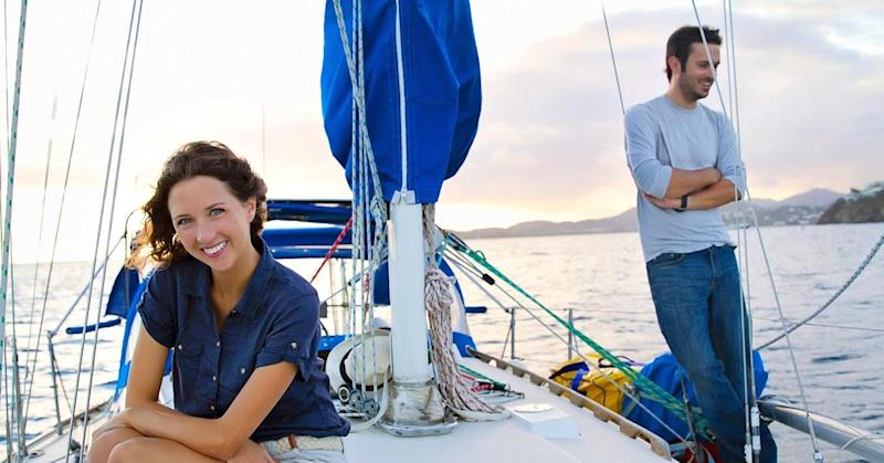 How one couple saved $100,000 and quit their jobs to sail around the world