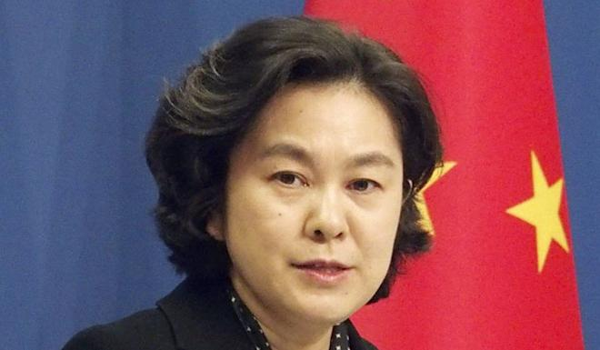 A tariff war is in neither side's interests, according to China's foreign ministry spokeswoman Hua Chunying. Photo: Kyodo