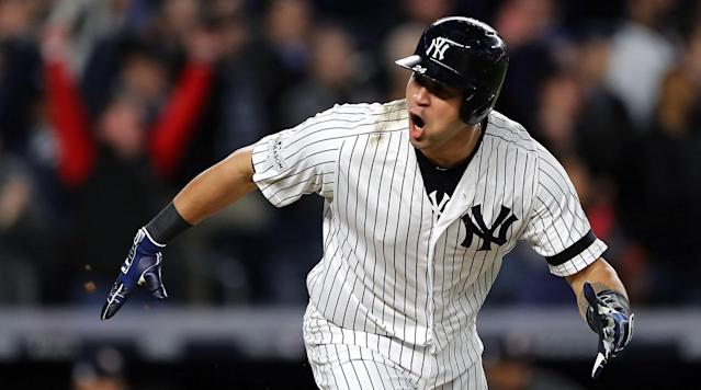 "<p>NEW YORK — Beer cups rained down from the grandstand level. Popcorn flew toward the heavens. The Yankees' baby faced assassin had returned, and his re-emergence was given a proper celebration.</p><p>For some of the season, at least, Gary Sanchez was the Yankees' best hitter. He played in just 122 games, missing time due to a biceps strain, but still managed to slug 33 home runs. Twelve of them came in August, when the Yankees' offense was trying to survive Aaron Judge's miserable slump. Even for part of June, when Judge established himself as one of the league's most formidable hitters, Sanchez somehow burned even hotter.</p><p>For some of the postseason, though, he'd been the worst Yankee at the plate, entering Game 4 of the ALCS hitless in his last 18 at-bats. On Monday night, he watched as Judge finally broke through off Astros pitching. On Tuesday, it was his turn. </p><p>Sanchez awakened his slumbering bat in the Yankees' 6–4 win on Tuesday night, driving in three with hard-hit balls to right in consecutive innings. The first, a liner into the glove of Josh Reddick, brought Didi Gregorius home from third to cut Houston's lead to two in the seventh. The second, a two-run double hammered into the gap at 113 mph, put the Yankees ahead for two. In a postseason where the Yankees' youngest have shone bright, Sanchez finally had his moment.</p><p>""Emotions are raw,"" Sanchez said through his translator. ""You're standing on second base and can't even control them.""</p><p>On most other teams, Sanchez would be the main attraction. He blends his massive power with steady contact at the plate, something that's becoming increasingly rare in an age where strikeouts are accepted as a product of gaudy home run numbers. Yet in New York, a 6'7"" shadow was cast over his brightest moments.</p><p>When he hit nine homers in June, Judge hit 10. When he made waves around the league by slugging 12 in August, Judge hit 15 in September. Even when he knocked Giancarlo Stanton out of the Home Run Derby with 17 homers, Judge hit 23. For most of the season, Sanchez's production has come rather quietly, but he made a big splash on Tuesday.</p><p>Sanchez's arrival to the ALCS only makes this Yankees lineup—one that scored eight in a Game 3 win—even scarier to the Astros, who are suddenly slipping. For the most part, Judge and Sanchez haven't had hot streaks at the plate at the same time. The only period of the season which they did, in June, the Yankees scored a season-best 177 runs.</p><p>""It can only mean more exciting things to come,"" Todd Frazier said of Sanchez's night. ""I'm pretty excited.""</p><p>Just as quickly as their bats abandoned the Yankees—Judge's after a blistering hot September, and Sanchez's after a solid start to October—they've returned. The Yankees were practically out of this series after six and a half innings on Tuesday. Now, with Sanchez in on the fun, they suddenly look like they may be the favorites against Dallas Keuchel in Game 5.</p>"