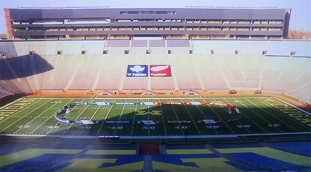 52a5f7564 That the Detroit Red Wings and Toronto Maple Leafs would meet in The Big  House at the University of Michigan for the 2013 NHL Winter Classic was  common ...