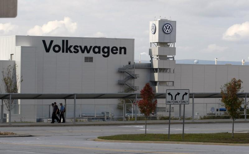 The Volkswagen Chattanooga Assembly Plant in Chattanooga