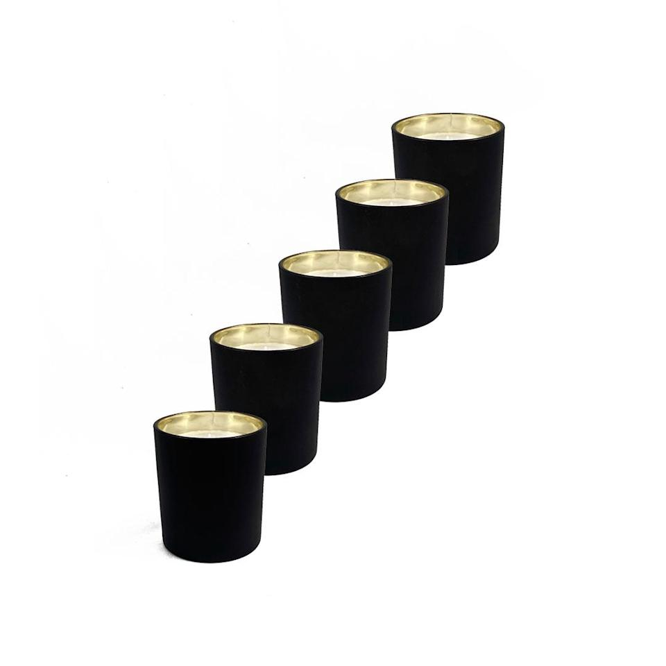"""<p>Having a signature scent for your home is a small way to make a big impact on a space (and seems <em>très</em> adult). Gift your girls this extremely chic set of 5 candles from Scott Alexander, which is available in a """"Fresh & Floral"""" or """"Woody & Earthy"""" bundle, to allow them to try out a range of scents and pick their favorite. </p> <p><strong>Buy It!</strong> $90 per set, <a href=""""https://www.scottalexanderscents.com/product-category/home-fragrances/discovery-boxes/"""" rel=""""nofollow noopener"""" target=""""_blank"""" data-ylk=""""slk:scottalexanderscents.com"""" class=""""link rapid-noclick-resp"""">scottalexanderscents.com</a></p>"""