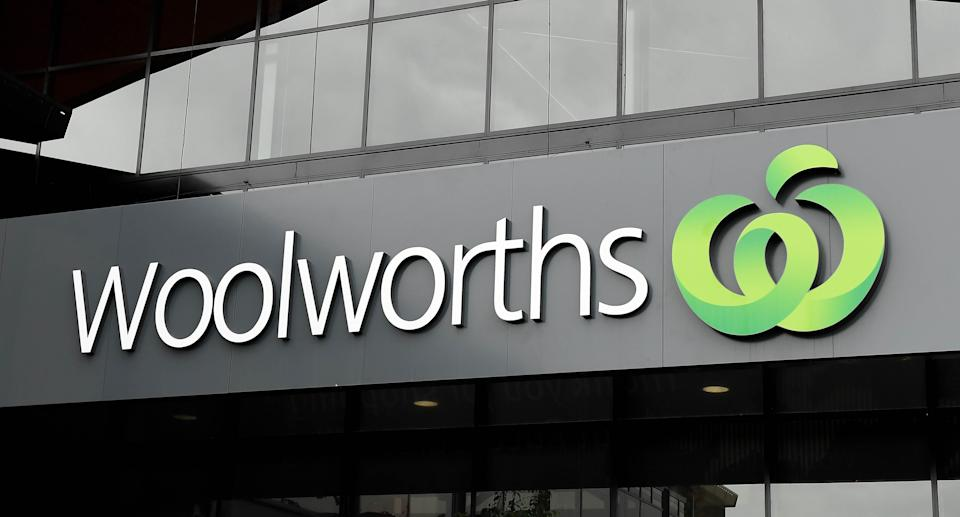 A general view is seen of a Woolworths store in Brisbane. Source: AAP