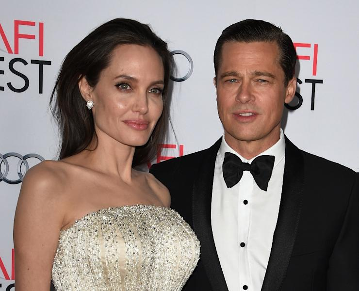 According to TMZ celebrity news website, Jolie filed legal documents on Monday citing irreconcilable differences with Pitt, listing their date of separation as September 15 (AFP Photo/Mark Ralston)