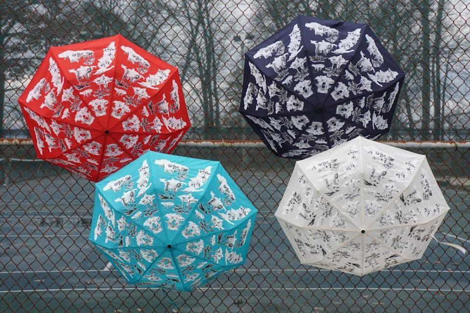 """<p><strong>Harlem Toile</strong></p><p>sheilabridges.com</p><p><strong>$30.00</strong></p><p><a href=""""https://www.sheilabridges.com/product/harlem-toile-umbrellas/"""" rel=""""nofollow noopener"""" target=""""_blank"""" data-ylk=""""slk:BUY NOW"""" class=""""link rapid-noclick-resp"""">BUY NOW</a></p><p>If Mom can't resist a good toile, she's sure to love these colorful, compact umbrellas in Sheila Bridges' iconic Harlem Toile.</p>"""