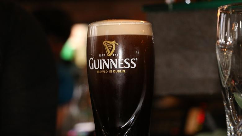 Vancouverites celebrate St. Patrick's Day with properly poured pints of Guinness