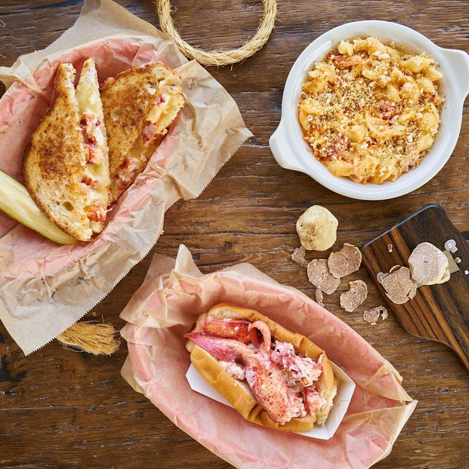 <p>This fast-growing fast-casual chain specializes in fresh and sustainable seafood dishes. Their most famous menu item is the classic lobster roll, but we also recommend checking out their crab or lobster Grilled Cheese.</p>