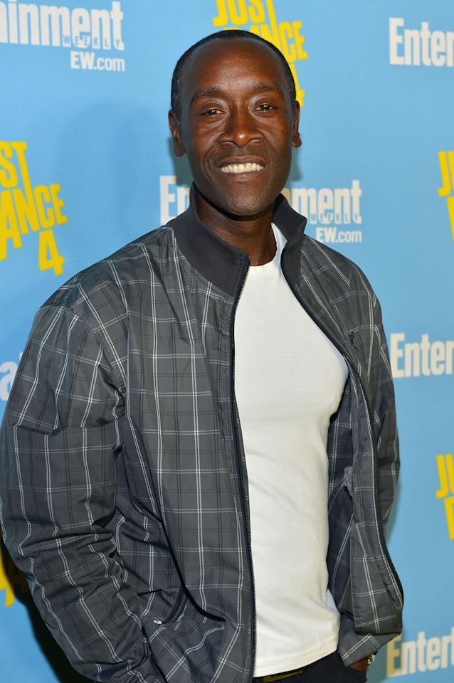SAN DIEGO, CA - JULY 14:  Actor Don Cheadle attends Entertainment Weekly's 6th Annual Comic-Con Celebration sponsored by Just Dance 4 held at the Hard Rock Hotel San Diego on July 14, 2012 in San Diego, California.  (Photo by Alberto E. Rodriguez/Getty Images for Entertainment Weekly)