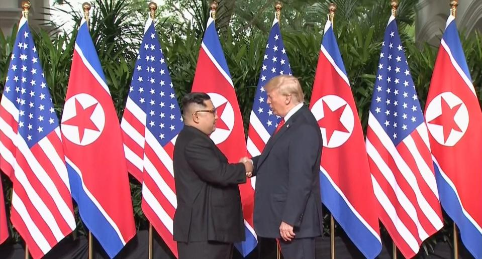 Trump, Kim to have one-on-one meeting