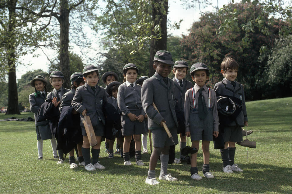 One mum can't understand why school uniforms are still 'gendered' [Photo: Getty]