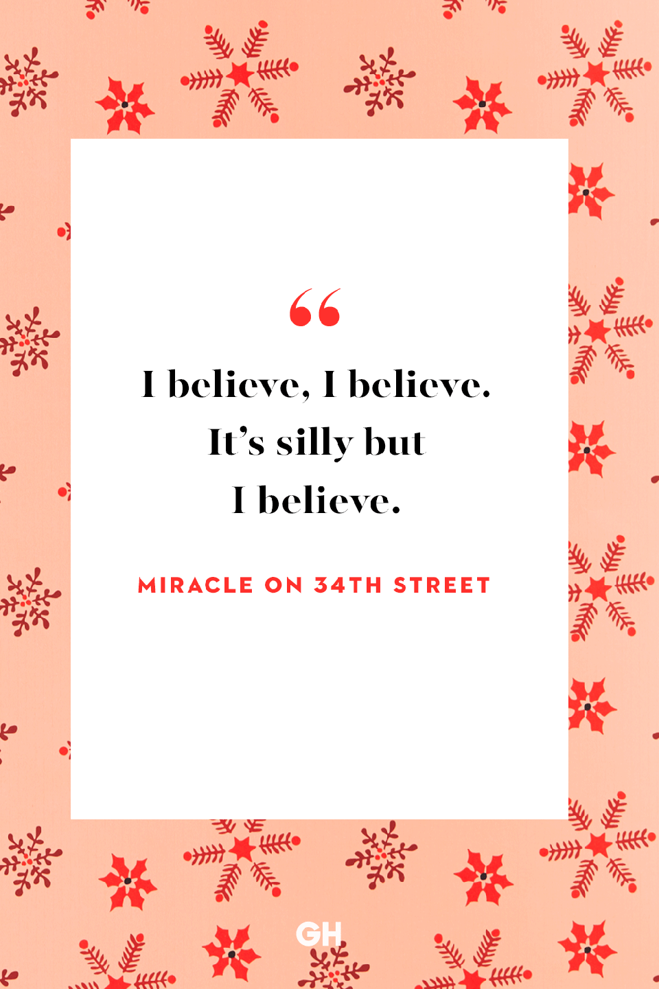 <p>I believe, I believe. It's silly but I believe.</p>