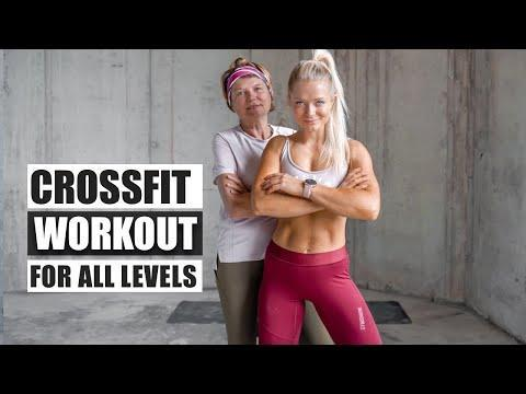 """<p>If you're a beginner, this CrossFit workout is for you. It's novice-friendly and perfect to ease into this style of exercise. You'll need a <a href=""""https://www.womenshealthmag.com/uk/fitness/yoga/g25471397/best-yoga-mats/"""" rel=""""nofollow noopener"""" target=""""_blank"""" data-ylk=""""slk:yoga mat"""" class=""""link rapid-noclick-resp"""">yoga mat</a>, <a href=""""https://www.womenshealthmag.com/uk/gym-wear/g29666691/best-water-bottle/"""" rel=""""nofollow noopener"""" target=""""_blank"""" data-ylk=""""slk:water bottle"""" class=""""link rapid-noclick-resp"""">water bottle</a> and twenty-mins spare. </p><p><a href=""""https://www.youtube.com/watch?v=dnAm_v85_HE&ab_channel=growingannanas"""" rel=""""nofollow noopener"""" target=""""_blank"""" data-ylk=""""slk:See the original post on Youtube"""" class=""""link rapid-noclick-resp"""">See the original post on Youtube</a></p>"""