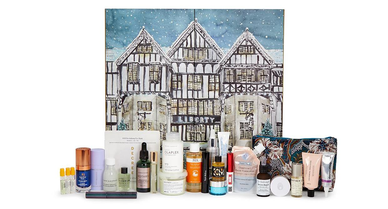 The ultimate Christmas treat comes in the form of Liberty's Beauty Advent Calendar 2021. (Liberty London)
