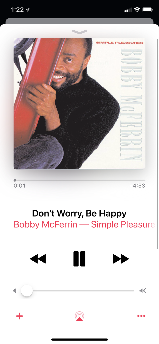 "<p>Repeating the name of this simple tune could turn your day around. After its 1988 release, ""Don't Worry, Be Happy,"" was in the number one spot on the <em>Billboard Hot 100</em> for two weeks. <br></p><p><a class=""link rapid-noclick-resp"" href=""https://go.redirectingat.com?id=74968X1596630&url=https%3A%2F%2Fitunes.apple.com%2Fus%2Falbum%2Fdont-worry-be-happy%2F724862142%3Fi%3D724862378&sref=https%3A%2F%2Fwww.oprahmag.com%2Fentertainment%2Fg23118484%2Fbest-happy-songs%2F"" rel=""nofollow noopener"" target=""_blank"" data-ylk=""slk:Listen Now"">Listen Now</a><br></p>"