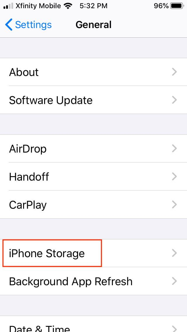 how to offload ios apps manual