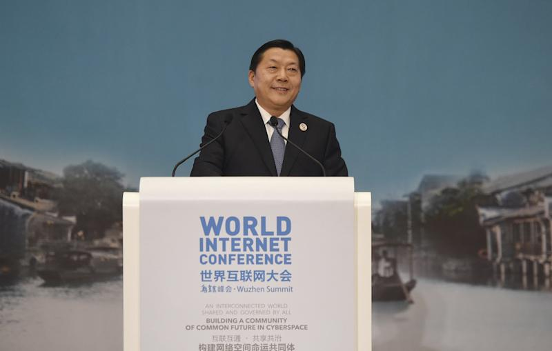 Lu Wei, China's former head of the Cyberspace Administration, was recently detainedunder suspicion of violating party discipline, according to reports. (China Stringer Network / Reuters)