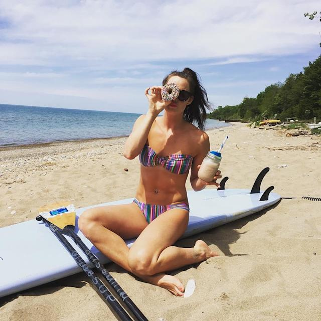 Tessa Virtue living the perfect life. (instagram/tessavirtue17)