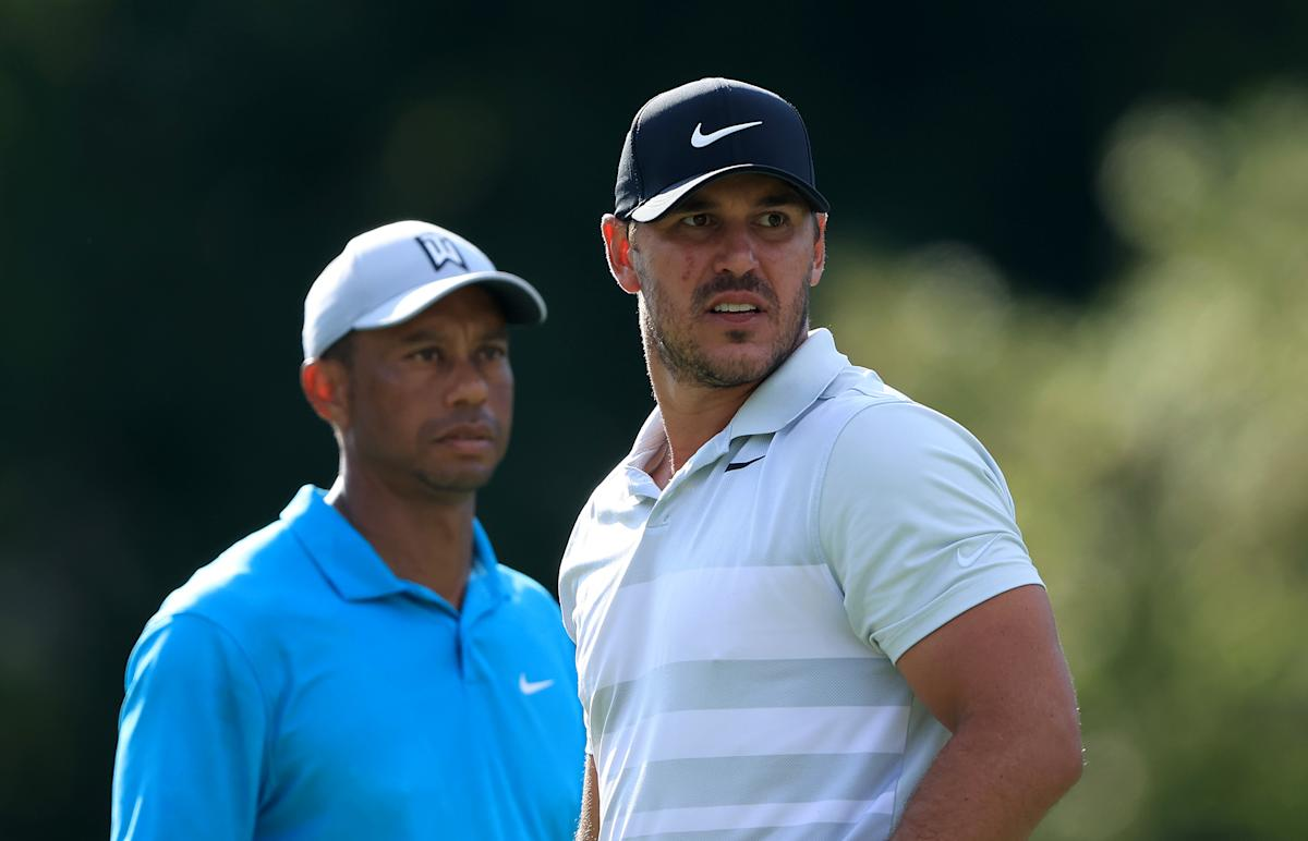 Brooks Koepka on Tiger Woods: 'I'm going to catch him on majors'