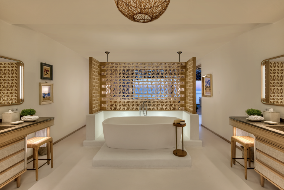 """<p>The only thing better than hearing English vacationers pronounce Ibiza (ee-BEETH-uh) is staying there in a ridiculously luxurious hotel. Enter <a href=""""https://www.sixsenses.com/en/resorts/ibiza"""" rel=""""nofollow noopener"""" target=""""_blank"""" data-ylk=""""slk:Six Senses Ibiza"""" class=""""link rapid-noclick-resp"""">Six Senses Ibiza</a>, whose fresh 116-room, 20-acre property on the northern coast is just that, but what makes it stand out is, in a word, calm. The remote location provides a softly designed respite from the Spanish island's infamously decadent nightlife scene. After a night of raving, a beautiful oasis like this one is all you'll yearn for.</p><p><a class=""""link rapid-noclick-resp"""" href=""""https://go.redirectingat.com?id=74968X1596630&url=https%3A%2F%2Fwww.tripadvisor.com%2FHotel_Review-g667128-d23341248-Reviews-Six_Senses_Ibiza-Portinatx_Sant_Joan_de_Labritja_Ibiza_Balearic_Islands.html&sref=https%3A%2F%2Fwww.elledecor.com%2Flife-culture%2Fg36802095%2Fbest-new-hotels-in-the-world%2F"""" rel=""""nofollow noopener"""" target=""""_blank"""" data-ylk=""""slk:Book Now"""">Book Now</a></p>"""