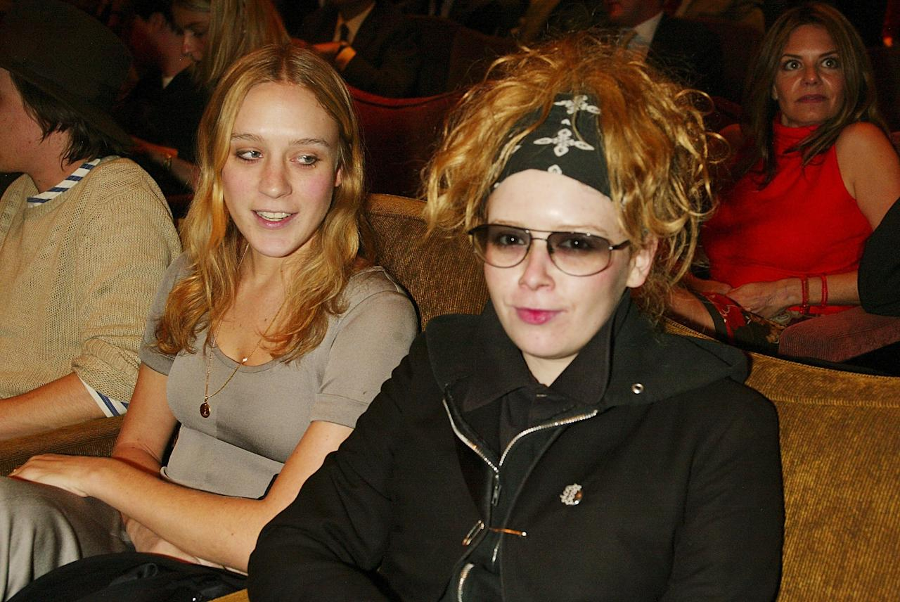 """Chloe Sevigny and Natasha Lyonne attend a special benefit screening of Elia Kazan's """"America, America"""" as part of The Grand Classics film series at the Tribeca Grand Hotel March 18, 2003 in New York City. Photo courtesy of Getty Images."""