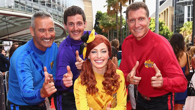 The Wiggles at the ARIAs