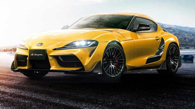 Toyota Supra gets carbon fibre body kit, 19-inch wheels from TRD