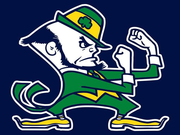 Conor Mcgregor Just May Be The Personification Of The Notre Dame Logo