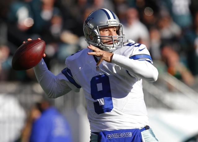 Former Dallas Cowboys Quarterback Tony Romo signed up to qualify for the 2017 US Open championship (AFP Photo/RICH SCHULTZ)